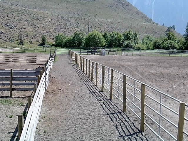Farm And Ranch Fences Continuous Fencing Oliver Bc Calgary Ab