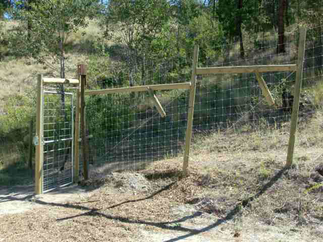 4' Deer fence gate